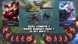 Video Dhasyat !! THAMUZ VS ALUCARD !! FULL ENDLESS BATTLE (MOBILE LEGENDS) MP3, 3GP, MP4, WEBM, AVI, FLV September 2018