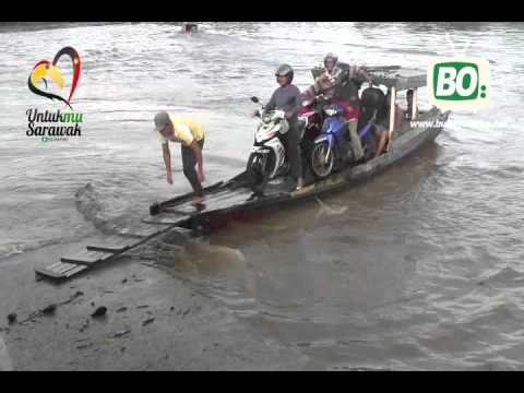 PRN Sarawak 2016 - Jambatan Batang Samarahan Jadi Taruhan Calon Bn Muara Tuang