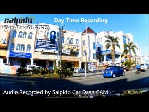 Full HD Portable Car Camcorder/ Car Camera Dashcam Blackbox (Black/Blue) Salpido C900