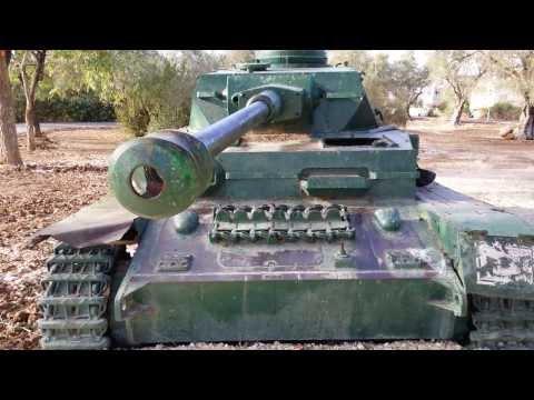 Танк Т-4( PzKpfw IV)- video 4К -camera Note 3.