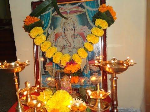 2014 Ganesh Puja & Gayatri Vantillu 6th Anniversary Celebrations - Indian Andhra Telugu Recipes