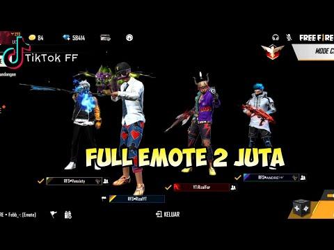 Tik Tok Free Fire Update Terbaru, Full Emote 2 Juta, Lucu Banget, Seru (Tiktok FF)