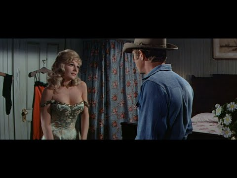 Steve McQueen and Joanna Moore. Sexy Scene. (Nevada Smith 1966)
