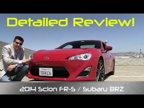 2014 / 2015 Scion FR-S (AKA Subaru BRZ & Toyota 86) Review and Road Test – DETAILED