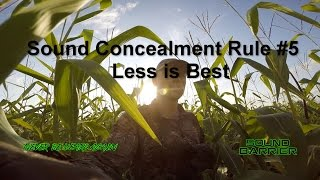 Deer Hearing: Sound Concealment Rule #5