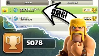 Video OMG! WE ARE NUMBER #1 ON THE LEADER BOARD! - INSANE HIGH LEVEL GAME PLAY IN CLASH OF CLANS! MP3, 3GP, MP4, WEBM, AVI, FLV Oktober 2017
