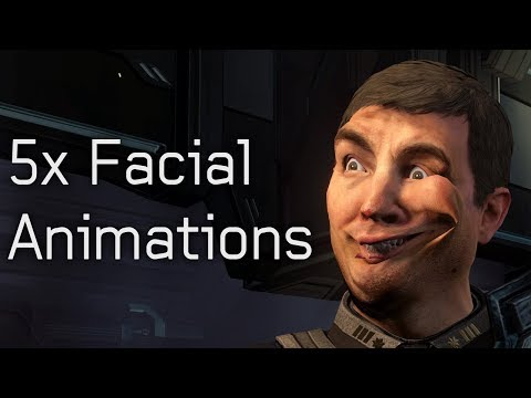Halo 4 - 5x Facial Animations