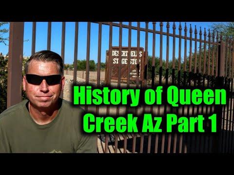 History of Queen Creek Arizona - Part 1