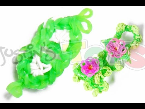 How to Make A Rainbow Loom Flower Bracelet – Part 2 – Petals