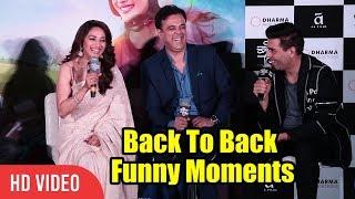 Video All Funny Moments Back To Back   Madhuri Dixit, Karan Johar   Bucket List Trailer Launch MP3, 3GP, MP4, WEBM, AVI, FLV Desember 2018