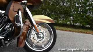 9. 2011 Harley-Davidson FLTRUSE CVO Road Glide Ultra Screamin' Eagle
