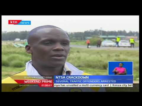 NTSA crackdown along key highways (видео)