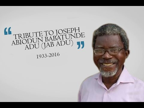 Tribute To Uncle JAB Adu