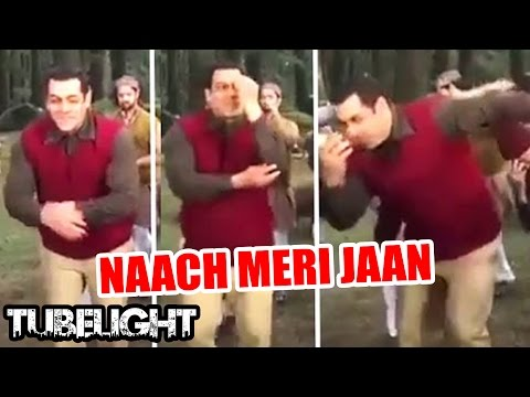 Video Salman Khan's Naach Meri Jaan Song LEAKED - Tubelight download in MP3, 3GP, MP4, WEBM, AVI, FLV January 2017