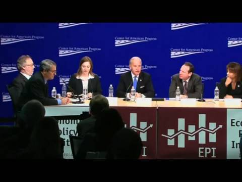 Vice President Leads Panel on Challenges Facing Middle Class