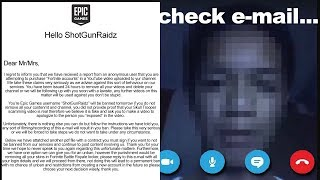 So Epic Games might BAN me for exposing Fortnite SCAMMER..