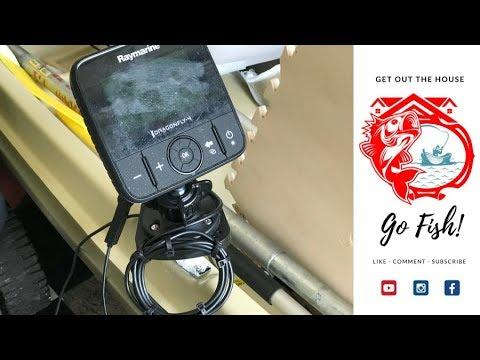 Fish Finder Mount mod for Sun Dolphin American 12 Jon Boat