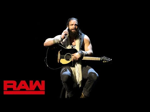 Elias Is Disturbed By Bobby Lashley And Lio Rush: Raw, Nov. 12, 2018