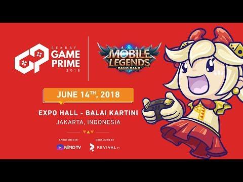 BEKRAF Game Prime 2018 - MLBB TOURNAMENT - Day 1