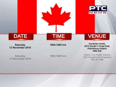 Consular Camps Organised from Consulate General of India in Toronto