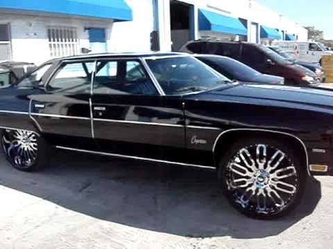 1976 4 DOOR CHEVY CAPRICE ON 26