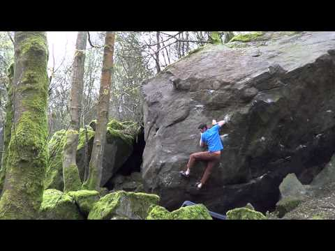 The Satellite Boulder, Chevin. The EASY Circuit.