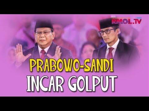 Prabowo-Sandi Incar Golput