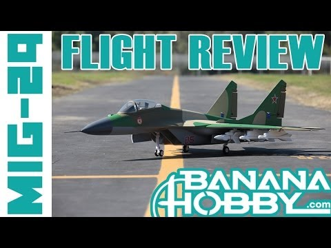 Order now at: http://www.bananahobby.com/12-ch-blitzrcworks-grey-camo-super-mig-29-rc-edf-jet-arf.html  PILOTS!...