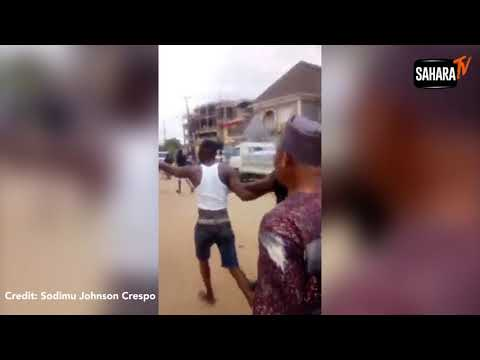 Police Officer Kills Bus Driver In Lagos (Video)