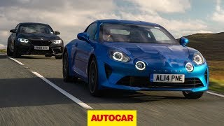 Alpine A110 vs BMW M2 Competition review   Which is the best sports car?   Autocar by Autocar