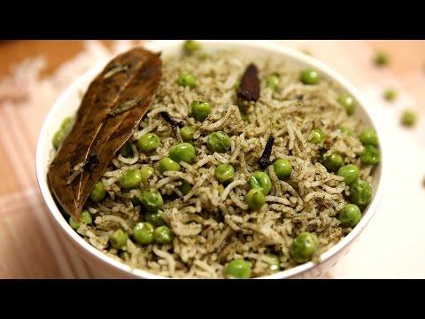 Peas Pulao | Matar Pulao – Veg Pulao Recipe | Divine Taste With Anushruti
