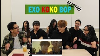 EXO - Ko Ko Bop MV Reaction Video...