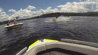 3. Jetski, Kawasaki, SXR 800, standup, submarine, best, tricks, summer, 2016