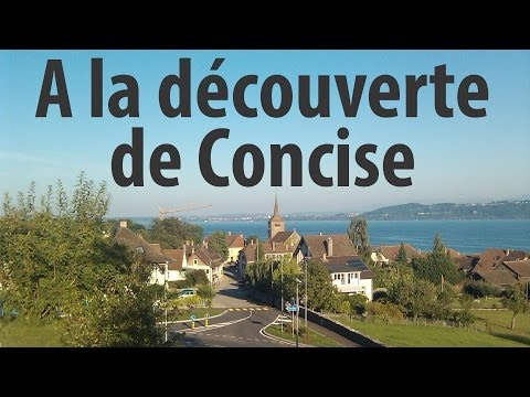 concise - Film permettant la découverte de Concise. Rencontres interview style radio-trottoir avec quelques-uns de ses habitants, des voisins, des touristes et son syn...