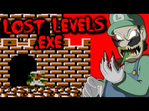 LOST LEVELS.EXE - HAUNTED SUPER MARIO BROS. 2 GAME?! [Haunted Gaming]