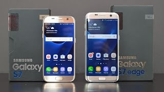 Samsung Galaxy S7 vs S7 Edge: Unboxing & Review