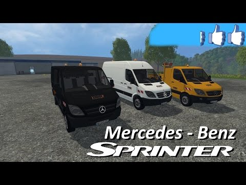 Pack Mercedes-Benz Spinter v1