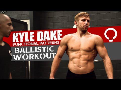 全FP訓練,角力冠軍Kyle Dake