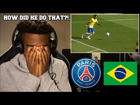 NEYMAR JR - THE MOST CREATIVE & SMART PLAYS | Reaction