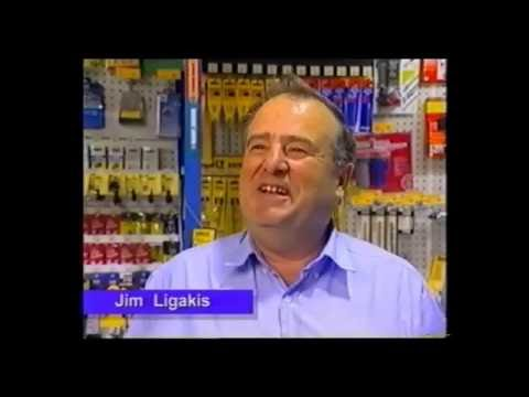 2000 Ethnic Business Awards Finalist – Small Business Category – Jim & Nick Ligakis – Crazy Jim's Mitre 10