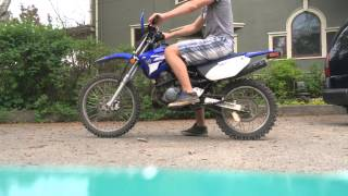 8. 2007 Yamaha TTR 125L running video