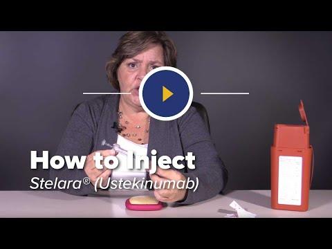 How to Inject Stelara (ustekinumab)