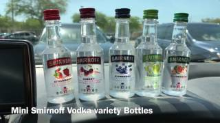 What do you think of the SMIRNOFF VODKA Mini Variety Bottles?
