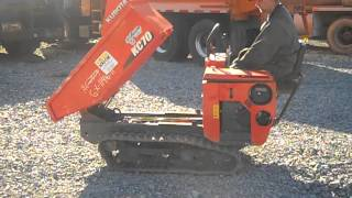9. 2011 KUBOTA KC70 For Sale