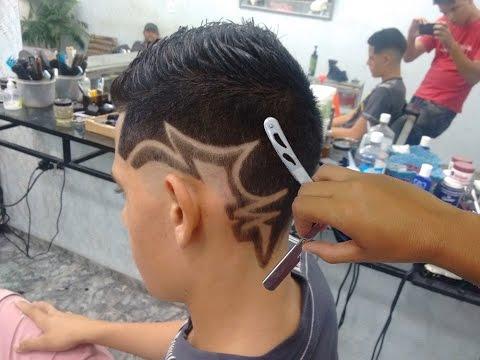 Geazi Barbeiro - Corte de Cabelo Masculino - Desenho com Pigmentação