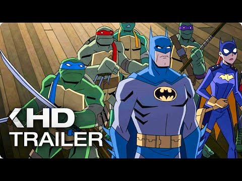 BATMAN VS. TEENAGE MUTANT NINJA TURTLES Trailer (2019)