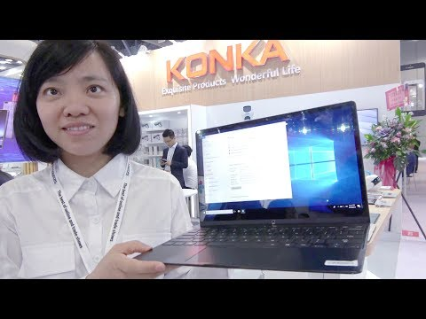 $150 KONKA Laptop, $40 Tablet, $300 Dancing Robot, $90 Smartphone