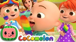 The Colors Song | CoCoMelon Nursery Rhymes & Kids Songs