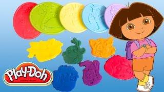 Play Doh Dora The Explorer Playset Playdough Hasbro Kit Play-Doh Dora La Exploradora Toys