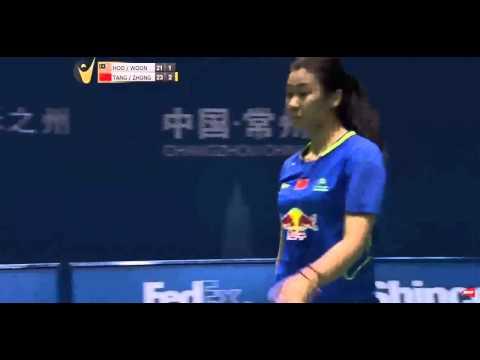 2015 Bonny China Master SF [WD] Vivian-Khe Wei WOON vs Jinhua-Qianxin (True Sport 7) (F.G2 3-2)